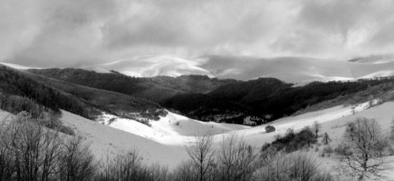 Зимен поглед от Тъжа