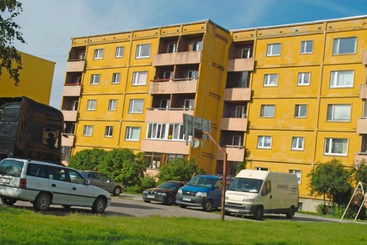 Тарту, Естония. Соца е оставил неизличими следи.