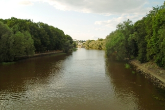 Тарту, Естония. Имат си река.