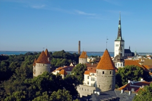 Талин, Естония. Стария град.