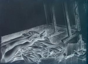 Човекът, който рисува женски крака
